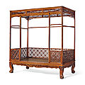 A huanghuali canopy bed, jiazichuang, 17th century