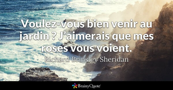 Citation Richard Brinsley Sheridan