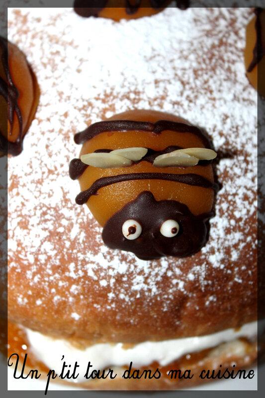 Gâteau abeille4
