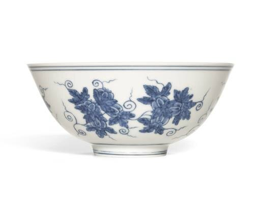 Chenghua Blue and White 'Palace Bowl'