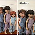 Encore des salopettes pour les poupées