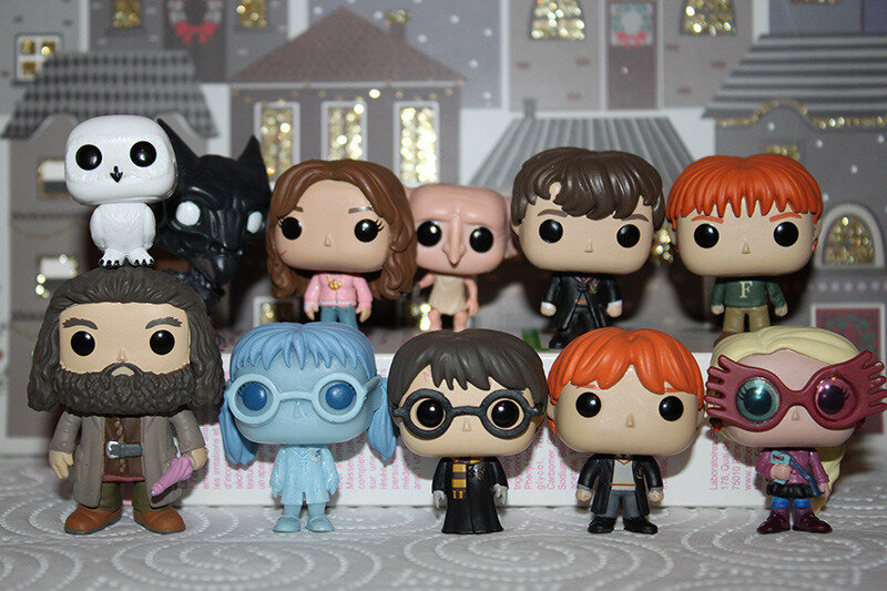 Calendrier De Lavent Harry Potter Funko Pop.Calendrier De L Avent Pop Funko Harry Potter 11 Mon