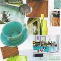 carnet de couleurs pour la cuisine