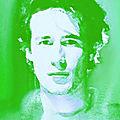 L'homme en vert