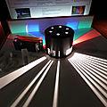 Exposition jeux de lumière à la cité des sciences