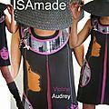 La robe/ tunique tendance du printemps 2013 : un retour au style sixties sobriété de la coupe trapèze et détails des couleurs !