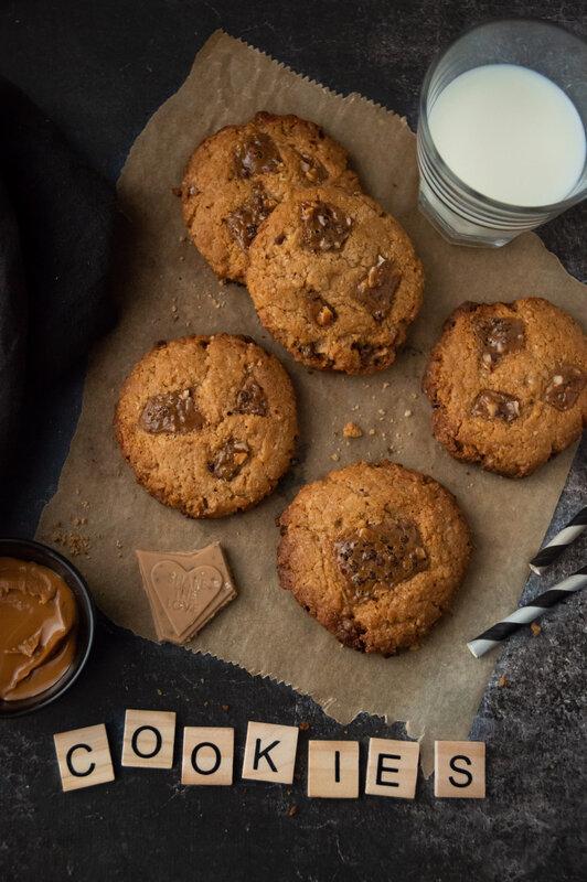 cookies vegan speculoos chocolat blanc blog