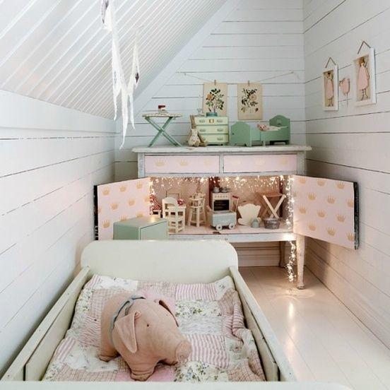 Une jolie chambre de fillette... Source: Rue - pitimana le ...