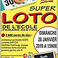 Loto de l'école : surprise !