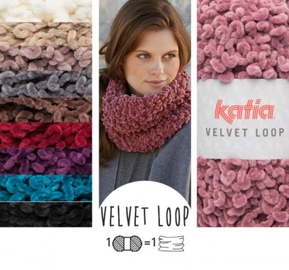 patron tricoter tricot crochet enfant col automne hiver katia 6099 33 g.  Une pelote   un col ou une écharpe 7669a25553d