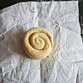 ...pâte feuilletée escargot, facile et rapide et très croustillante...