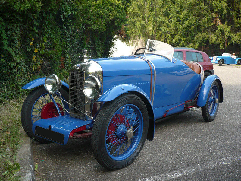 AMILCAR CGSS biplace sport 1927 Klingenthal (1)