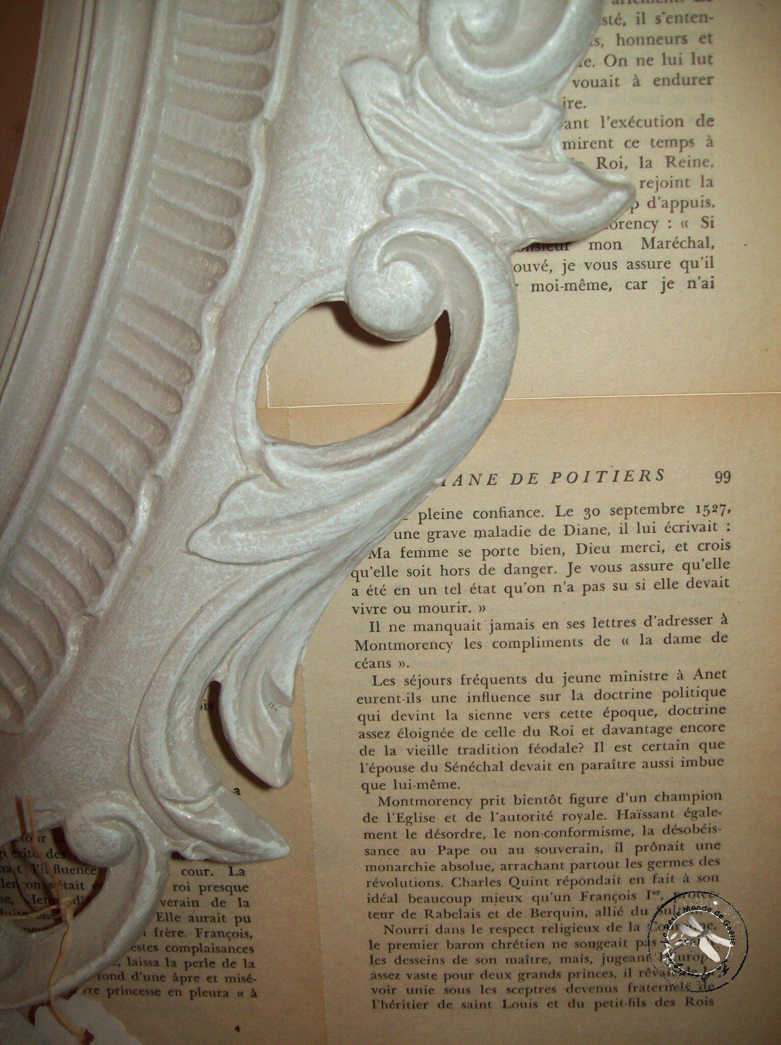 miroir ovale après détail