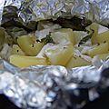 Papillottes de pommes de terre (bbq)