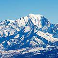 021 Mont Blanc depuis l'Armenaz au zoom