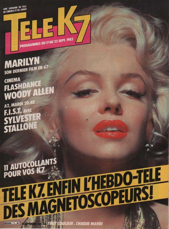 Télé K 7 1983