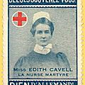 Edith cavell, les hommages internationaux (2)