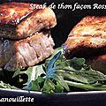 Snack de thon façon rossini