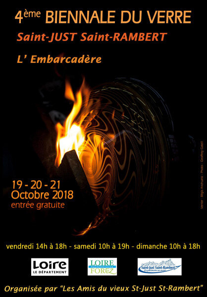 BIENNALE DU VERRE - ST JUST, OCTOBRE 2018