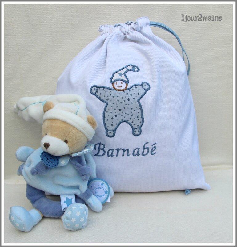 sac doudou Barnabé