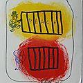 Franzen piet verso art postal fête du fil 2017