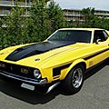 Ford mustang mach1 fastback coupe, 1971 à 1972