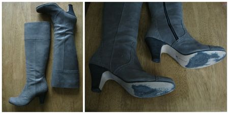 botte jonak, vide dressing, botte cuir,