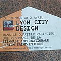 [festival] lyon city design 2015