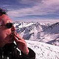Jénorme fume une bonne clop à 2600 m d'altitude (65)