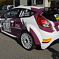 Rally baldomerien 42 2015 coupe de france n°1 1er f fiesta ex m- sport loc 3d auto