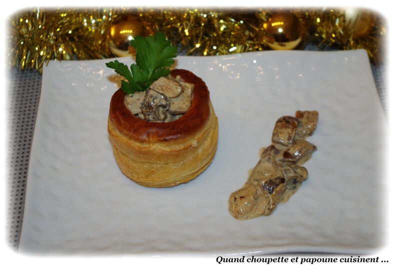 feuilleté d'escargots aux cèpes-1