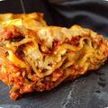 Lasagnes à la brousse et mozzarella