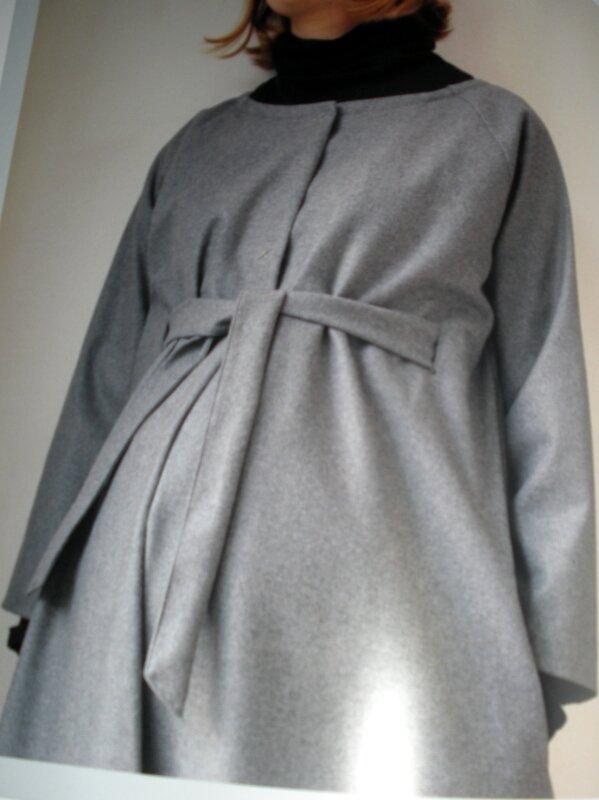 manteau ceinturé
