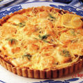 Quiche au saumon et aux fruits de mer (pas regime) archives