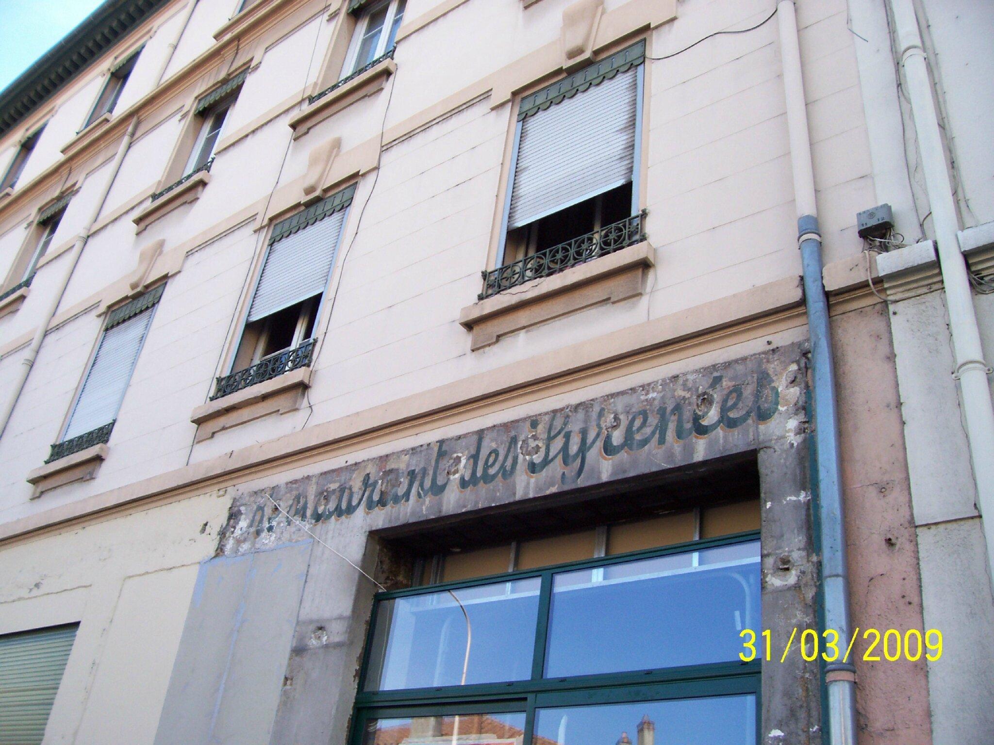 Avenue Lacassagne : Commerces de 1960…/70…