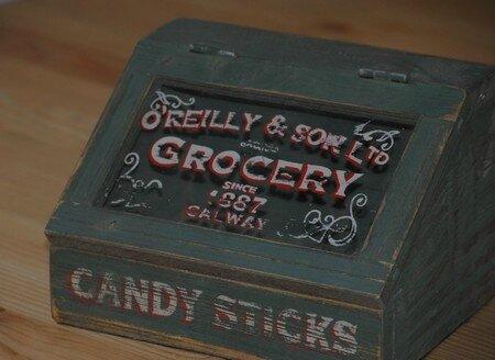 boite bonbon vintage