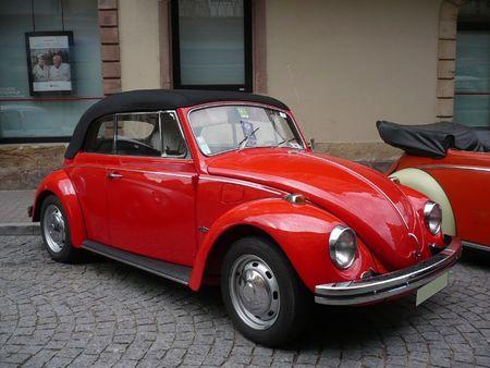 VOLKSWAGEN Coccinelle 1500 cabriolet Molsheim (1)