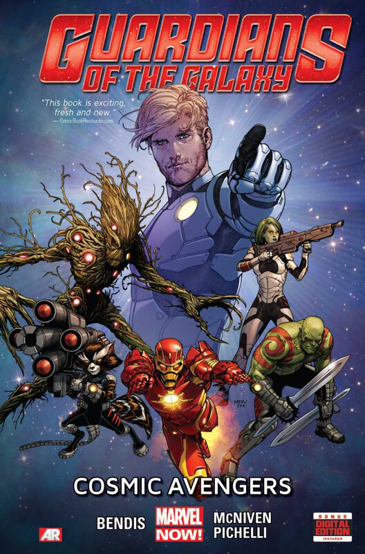 guardians of the galaxy 2013 vol 01 cosmic avengers TPB
