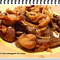 Poêlée de bœuf asiatique