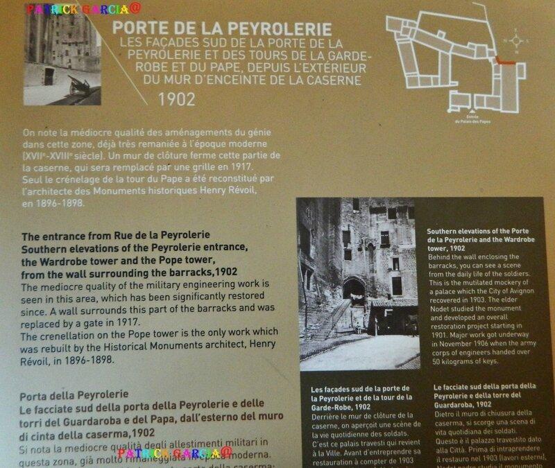 AVIGNON PALAIS INTERIEUR ESCALIER D'HONNEUR 920 copie