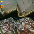 Tarte fine aux fromages et à la viande