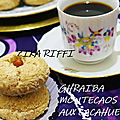 Ghraiba- ghribia- montecaos aux cacahuetes