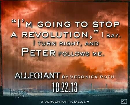 Allegiant Quote Tris and Peter