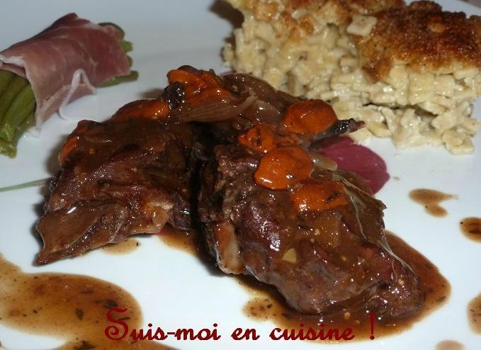 Saut de chevreuil aux baies de goji suis moi en cuisine - Cuisiner un cuissot de chevreuil ...