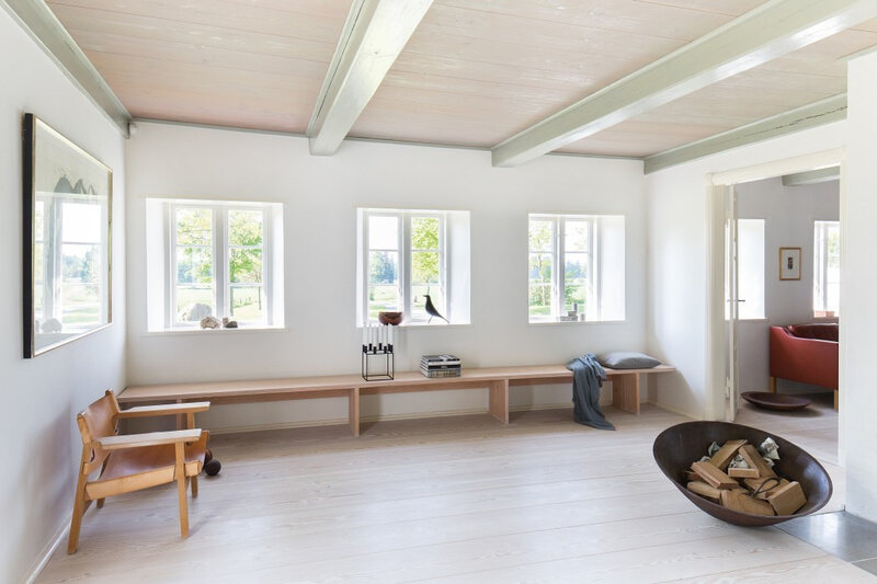 Farmhouse in Denmark and designed by Dinesen (2)