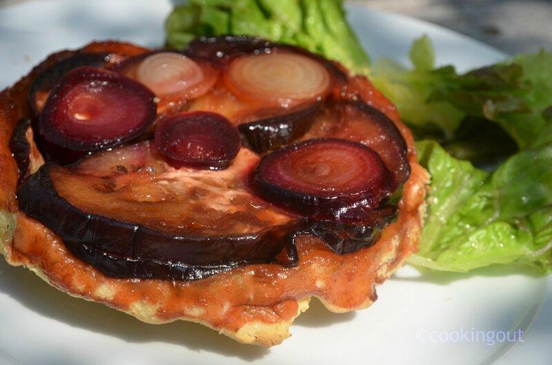 tatin-d'aubergine-à-la-mélasse-de-grenade