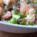 Salade fraîcheur, souvenir de mer
