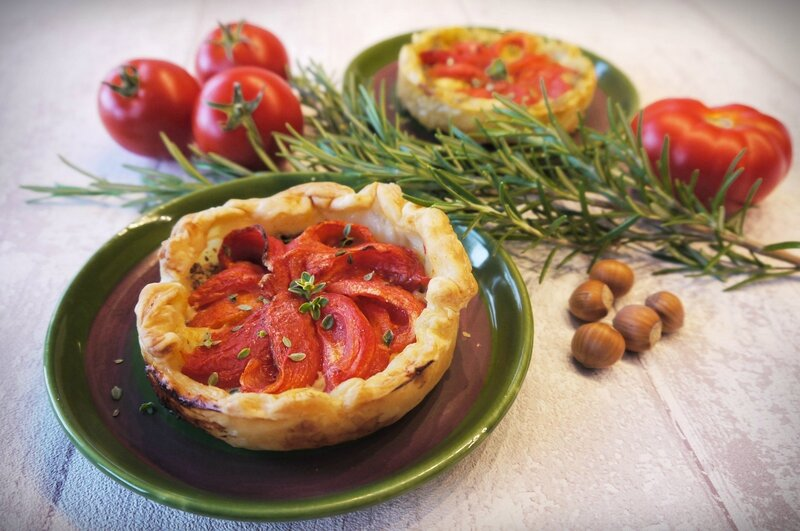 Tarte Tomate Fromage Moutarde