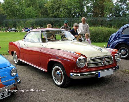 Borgward isabella coupé de 1959 (9ème Classic Gala de Schwetzingen 2011) 01