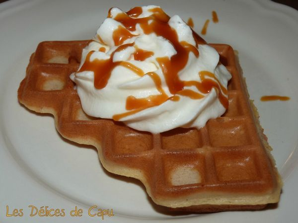 Gaufre chantilly à l'orange et salidou1